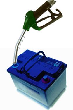 refill battery